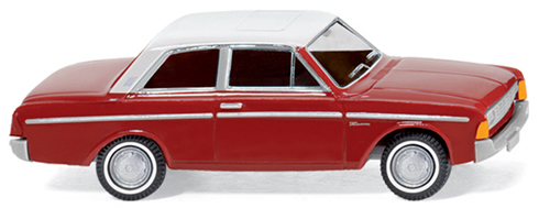Wiking 20401 - Ford Taunus 20M brown/wht
