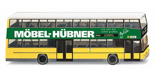 wiking 73112 double decker bus d 89 m bel h bner