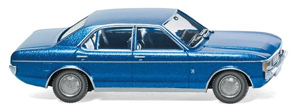 Wiking 79103 - FORD Granada Metallic Blu