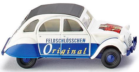 Wiking 80912 - Citroen 2 CV Feldsschloss