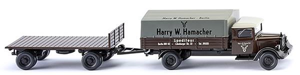 Wiking 84201 - MB L2500 T/T Set Hamacher