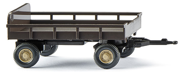 Wiking 86903 - Agricultural Trailer brwn