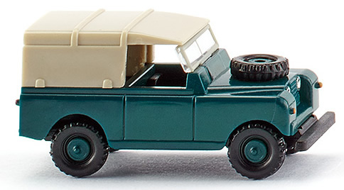 Wiking 92302 - Land Rover blue-green