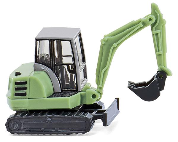 Wiking 94606 - Mini Excavator w/Shovel