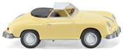 Porsche 356 Cabrio Yellow