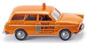 VW 1600 W. Roth Emergency