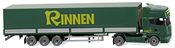 Scania Flatbed Rinnen