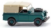 Land Rover blue-green