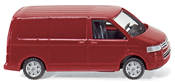 VW T5 Transporter Red