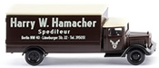 Box Truck Harry Hamacher